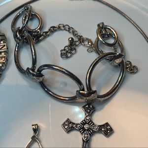 Vintage Jewelry - Sterling Silver Lot of Fine Jewelry 92 Grams